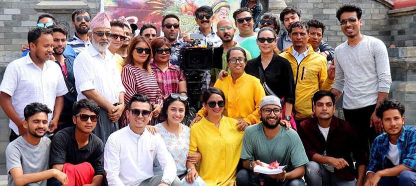 चलचित्र 'आमा'को छायाँकन सुरु