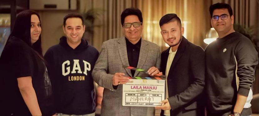 'पासवर्ड' निर्माताको बलिउड चलचित्र 'लैला मंजु'