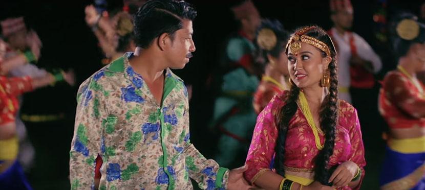 Prakash Saput and Riyasa's 'Lalumai Lalumai'