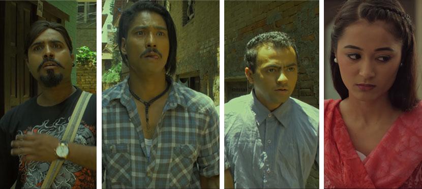 यस्ता छन् 'माछा माछा'का मुख्य चार पात्र