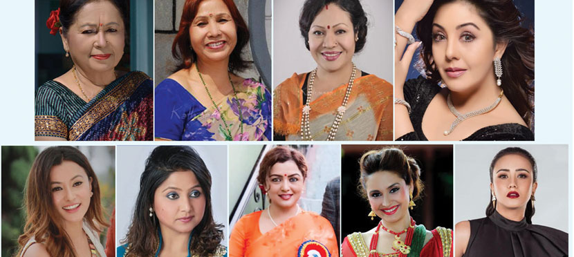 नवदुर्गामा नौं अभिनेत्रीलाई सम्मान, भुवन चन्द देखि स्वस्तिमा सम्म