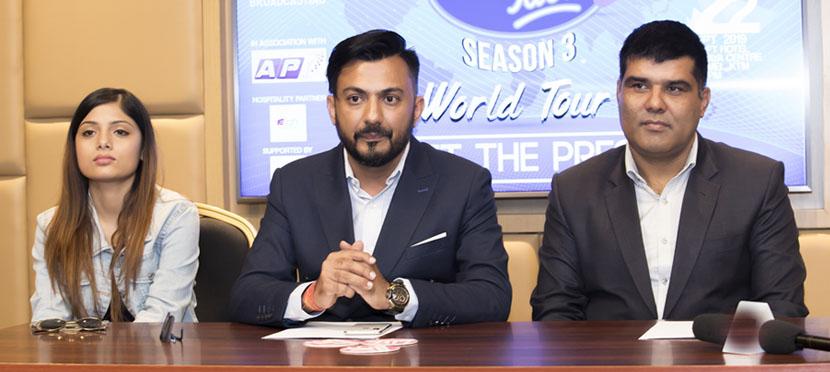 नेपाल आइडल –३ अडिसन शुरु भएसँगै वल्र्ड टुरको घोषणा