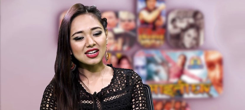 Nepali actress Nirisha in Indian serial 'Tenali Rama'