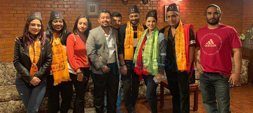 नेपाल आइपुगिन सन्नी लियोनी