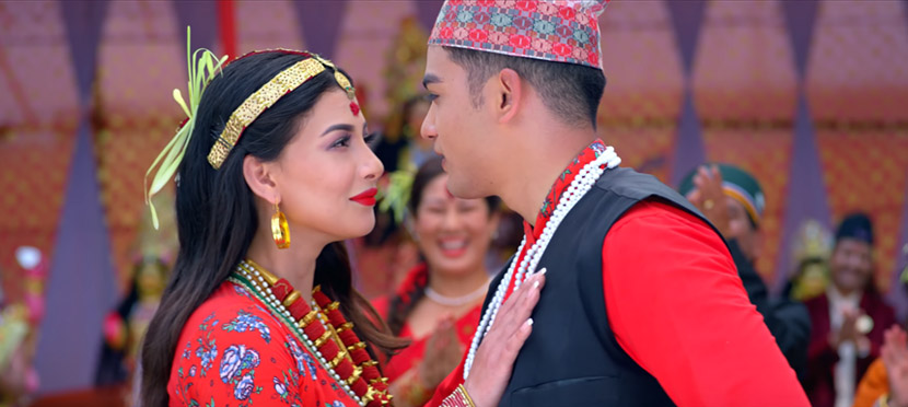 The title song 'Rato Tika Nidharma' has released